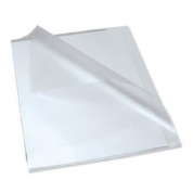 Q-Connect Clear A4 Cut-Flush Folder